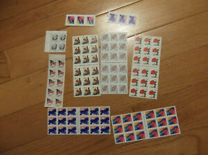 110 29 cent stamps $31.90 face mostly booklets