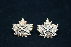 Canadian-Army-Cadet-Instructor-Cadre-CIC-Officers-Collar-Badge-Pair