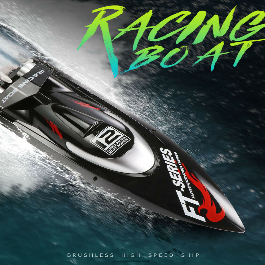 Feilun 50KM H Watercooled Brushless 2.4G High Speed Remote Control  Racing Boat  consegna e reso gratuiti