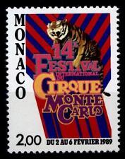 Zirkus.Tiger.14.Zirkusfestival von Monte Carlo. 1W. Monaco 1988
