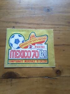 pochette  football World cup Mexico 70  🇲🇽 scellée bisvalida