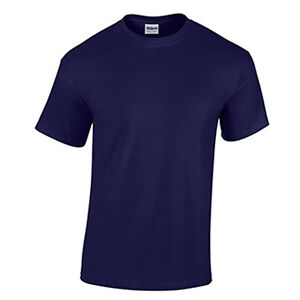 Light Blue WHOLESALE Blank Men/'s T Shirt Casual Work Mens Gildan Tee