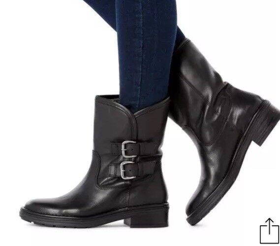Dune Warm Lined Calf Boot Size 7 40    Box76 2c6b4c