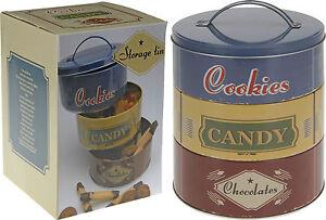 Set-of-3-Stacking-Biscuit-Storage-Tins-Retro-Shabby-Chic-Cookie-Tin-Cake-Tin