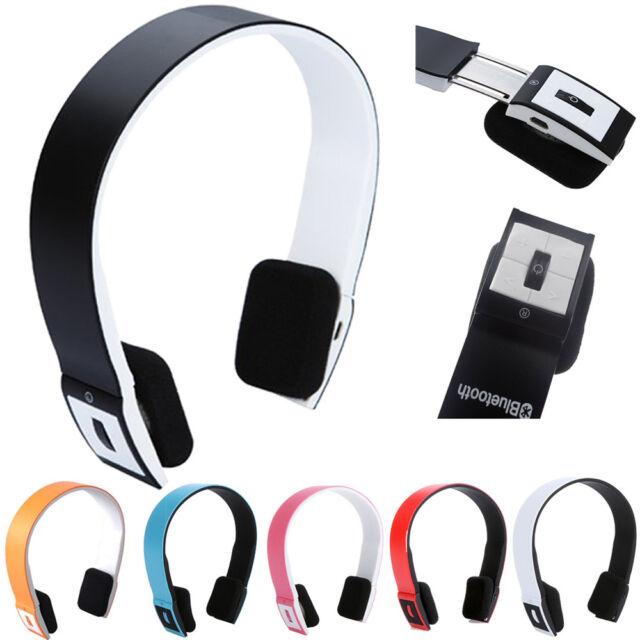 Bluetooth Headset Headphone Earphone Wireless Sport Stereo Universal Smartphone
