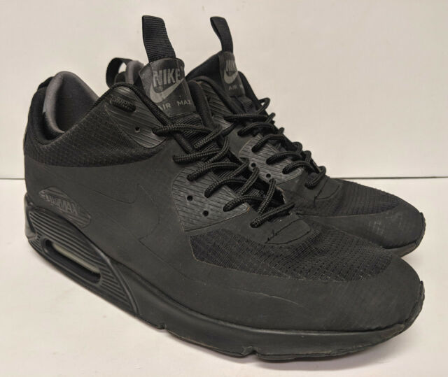 Nike Air Max 90 Mid Winter (Black) US Size 12 806808 002