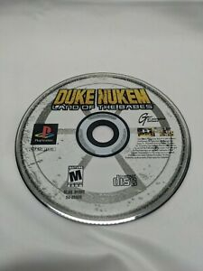 Duke Nukem: Land of the Babes (Sony PlayStation 1, 2000) Ps1 Disc Only Tested!