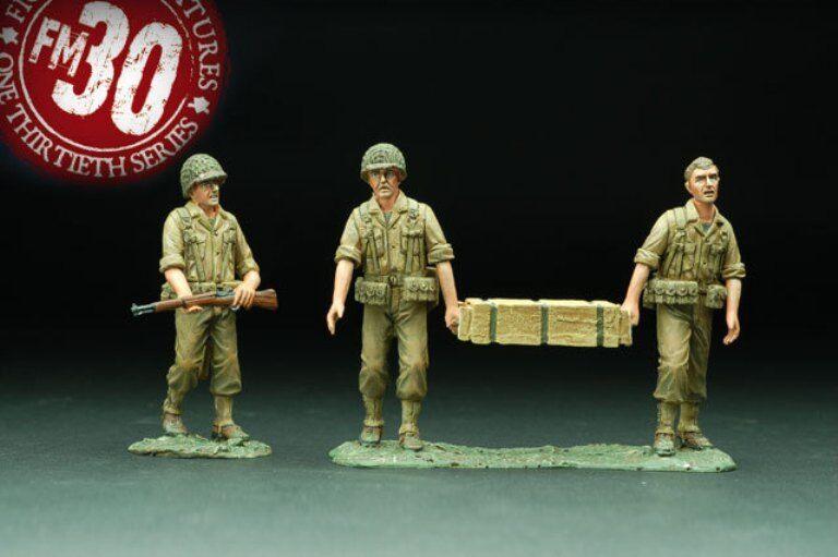 FIGARTI PEWTER WW2 AMERICAN RMA-002 MORE AMMO MIB