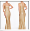 DRESS-THE-POPULATION-RAVEN-GOLD-SEQUIN-MERMAID-GOWN-DRESS-sz-M thumbnail 2
