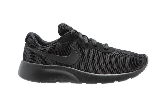 Scarpe sportive ragazzo ragazza Nike Tanjun GS 818381 001 Nera
