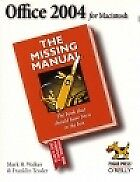 1 of 1 - Office 2004 for Macintosh: The Missing Manual (Missing Manuals), Mark H. Walker