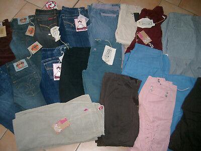 (k26) Posten Damen Hosen Jeans Nolita Meggie Michiko 20 Stk. Div Größen & Styles Zu Den Ersten äHnlichen Produkten ZäHlen