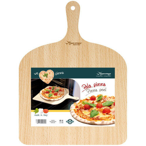 "Eppicotispai Birchwood Pizza Paddle Size 11-3//4/"" Wide"