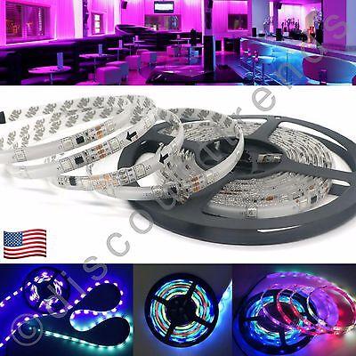 2811 Waterproof Chasing Dream Color 5050 LED Strip Light 5M 16.4ft RGB 150 LEDs