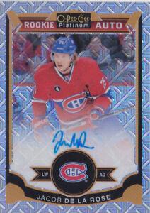 15-16-OPC-Platinum-Jacob-De-La-Rose-125-Auto-Rookie-Traxx-Canadiens-2015
