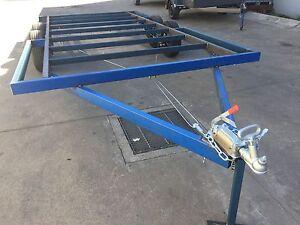 BRAND-NEW-Trailer-CHASSIS-Tandem-axle-12X8-DIY-caravan-car-enclosed-flat-bed