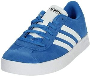 Adidas-VL-Court-2-0-K-F36376-Scarpa-Sneakers-Donna-Col-Azzurro-tg-varie