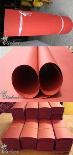 1.0mm*120mm*120mm aislamiento junta rojo papel aislante de fibra vulcanizada 6 un.