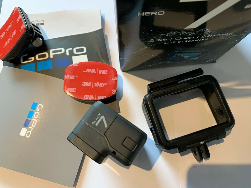 GoPro, Hero 7 Black, Perfekt