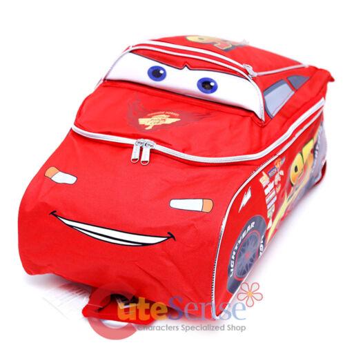 Disney Cars Mcqueen Large School Backpack 3D Shape 16 Boys Book Bag