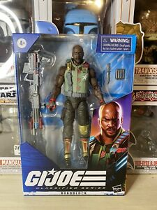 "G.I. Joe Classified Series Roadblock Hasbro 6"" Action Figure NIB Unopened!"