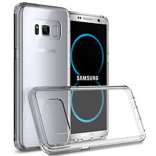 for Samsung Galaxy S8 Plus Case Clear Silicone TPU Rubber Protective Cover
