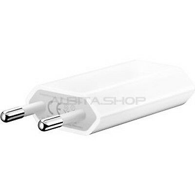 CARGADOR RED USB 5W APPLE ORIGINAL MD813ZM IPHONE 6, 6 PLUS, 5S, 5C, 5, 4S, 4