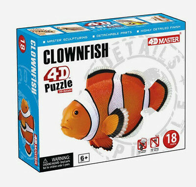 CLOWNFISH  PUZZLE, 4D Vision Kit #26543  TEDCO SCIENCE TOYS