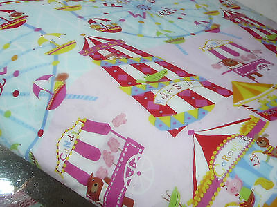 HAPPY KIDS FUN AT FAIR PINK DOUBLE QUILT COVER SET BNIP GLOW IN THE DARK