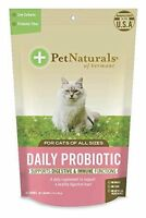 Daily Probiotic Chew For Cats 30 Chews Pet Naturals Of Vermont