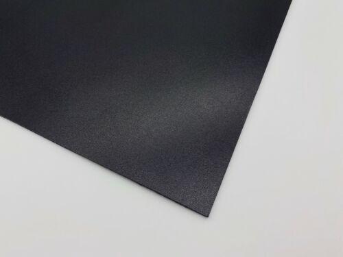 Teñido Veg Bronceado De Cuero De Vaca Artesanía 1.8-2mm de espesor negro