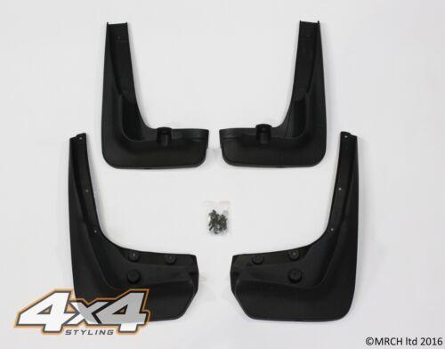 Pour bmw X6 E71 E72 2008-2014 bavettes gardes set 4 pieces