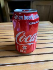 Half Full or Half Empty Can Of Coke? Factory Sealed Unopened Can Of Coca Cola