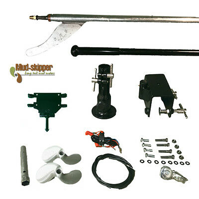 MUD-SKIPPER Longtail Mud Motor KIT - up