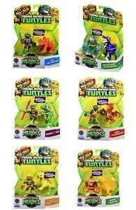 PLAYMATES-TOYS-TEENAGE-MUTANT-NINJA-TURTLES-HALF-SHELL-HEROES-2-5-FIGURES