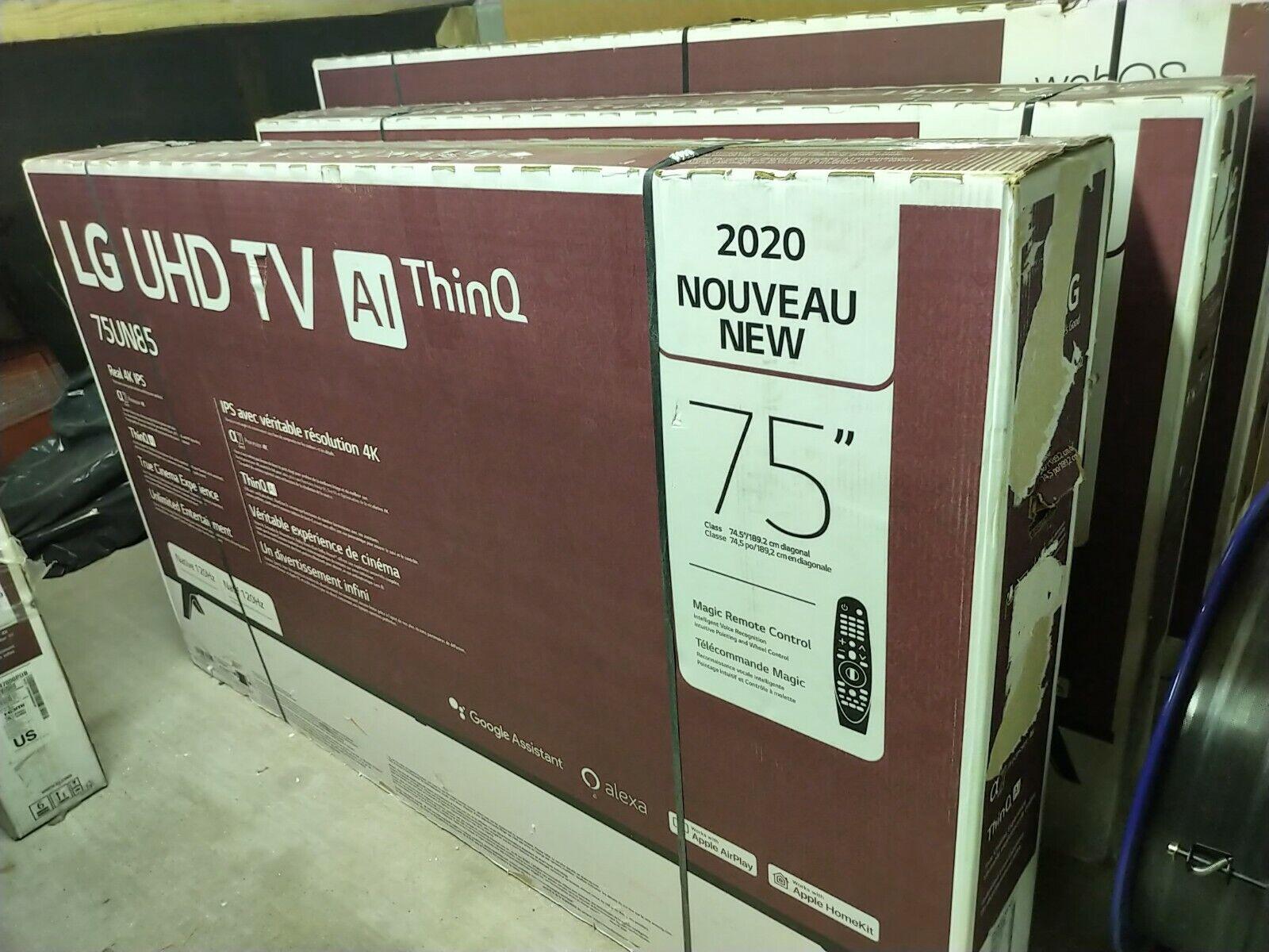 LG 75UN8570 75 Black 4K HDR Smart LED TV - 75UN8570PUC. Available Now for 1199.00