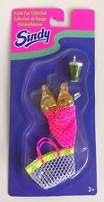 Hasbro 1996 Sindy Doll Travel Fun Collection Outfit Set #18586 Set Number 2