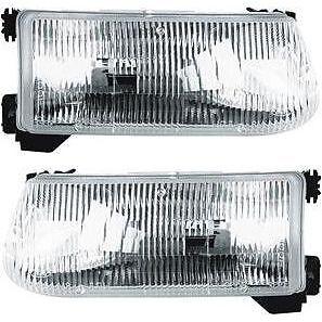 New Driver & Passenger Side Headlight Lamp For Ford Explorer 1995-2001