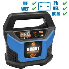 Güde Kfz 12V Auto Batterieladegerät Automatik Batterielader 15A Boost Starthilfe