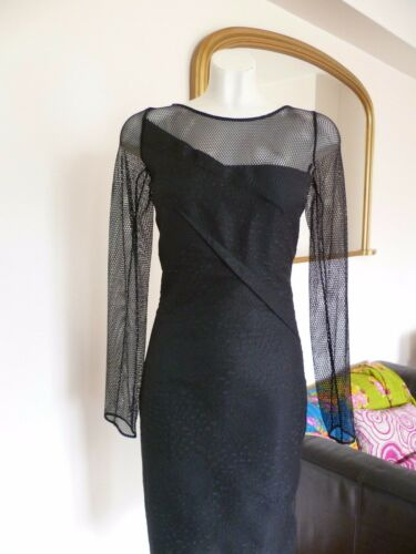 Dress Uk Mouret Lace Size Black 8 Nwt Magnolia Roland xpTRnqvwv