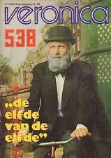 VERONICA 1972 nr. 46 - VADER ABRAHAM/JEFF BECK/RICK NELSON/ANJA/FRANS MOLENAAR