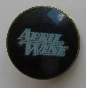 Details about APRIL WINE VINTAGE METAL PIN BADGE FROM THE 1980's HARD ROCK  HEAVY METAL BAND