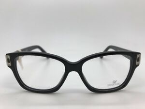 1b175fb636b SWAROVSKI DYLAN SW 5090 001 WOMANS EYE GLASSES FRAMES EYEWEAR 52-14 ...