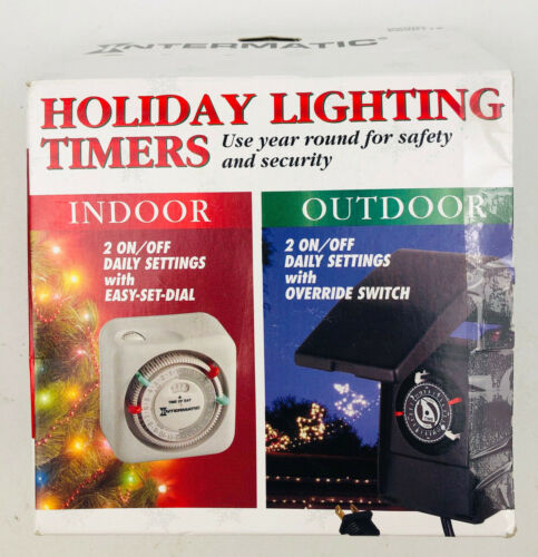 120V NEW Intermatic HB35R 24 Hour Automatic Outdoor Timer 10 AMP 1200W