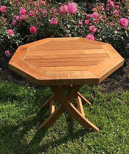 Tisch 8 Eckig.Details Zu Teak Beistelltisch 8 Eckig 50 Cm Klappbar Tisch Coachtisch Outdoor Indoor Teak