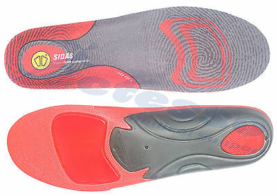 Sidas 3D Gel Insoles shoe inner soles arch support cushioning foot and heel pain