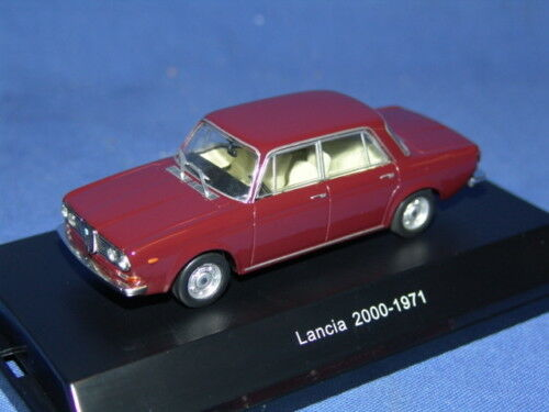 1 LANCIA 2000 BERLINA RED YORK 1 43 STARLINE