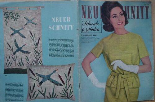 Neuer Schnitt 62/08 w/Burda Tanzstunde Umstandsmode Baby 60er J. Schwabe Mieder