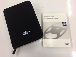 ford focus c max 2003 2007 owners manual handbook with wallet ebay rh ebay co uk ford focus 2007 owners manual uk ford focus 2007 owners manual pdf