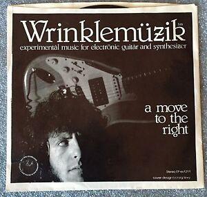 "wrinklemuzik ep ""a move to the right"" original vinyl"